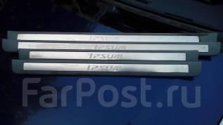 Накладка на порог. Toyota Ipsum, ACM21, ACM21W