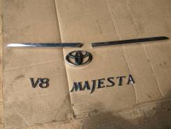 Эмблема багажника. Toyota Crown Majesta, UZS175, UZS173, UZS151, UZS171, UZS157, JZS177 Двигатели: 1UZFE, 2JZFSE