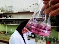 Лаборант химического анализа. Высшее образование по специальности