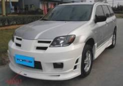 Обвес кузова аэродинамический. Mitsubishi Outlander, CU5W, CU2W, SUV. Под заказ