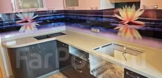 Изготовление кухонных столешниц из искусственного камня (акрил, кварц)