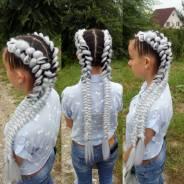 Плетение кос, брэйдов , Де'дреды, box брейды. Прически из кос.