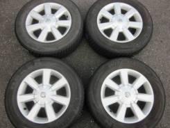 """№471. Зимний комплект на 16"""" Nissan + Nexen 215/65R6 - без пробега. 6.5x6 5x114.30 ET45 ЦО 66,1мм."""