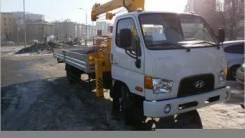 Hyundai HD78. КМУ на шасси Hyundai HD 78 Palfinger PK8500, 3 907 куб. см., 7 400 кг.