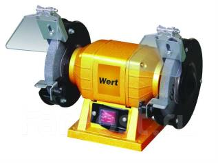 Точильно-шлифовальный станок WERT GM 0315 (250Вт, 2950об/мин)
