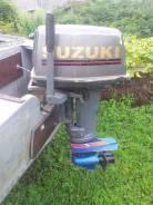 Suzuki. 25,00л.с., 2-тактный, бензиновый, нога S (381 мм), Год: 1996 год