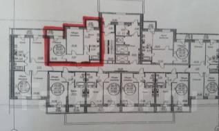2-комнатная, улица Выставочная 26. Индустриальный, агентство, 59 кв.м.