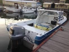 Yamaha Fish 24. длина 7,25м., двигатель подвесной, 200,00л.с., бензин