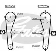 Ремень ГРМ. Toyota: Carina, Celica, Sprinter, Corona, Sprinter Carib, Corolla Levin, Sprinter Trueno, Corolla, Carina II Двигатели: 4AF, 4AFE, 4AFHE...