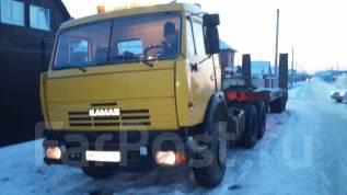 Камаз. Продается седельный тягач в сцепки с тралом Обмен, 10 850 куб. см., 20 000 кг.