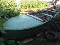 Казанка-М. Год: 1982 год, длина 5,00м., двигатель без двигателя, 40,00л.с.