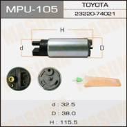 Насос топливный электрический! bmw e36 1.8-3.0 95-03 Masuma арт. MPU105 Mpu-105_
