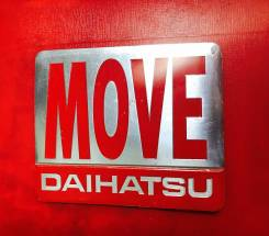 Эмблема. Daihatsu Move, LA100S, LA110S Двигатель KF