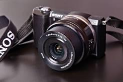 Sony Alpha ILCE-5000. 20 и более Мп, зум: 3х