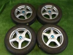 """Комплект отличных колес Subaru зима ЖИР!. 6.0x15"""" 5x100.00, 5x114.30 ET53"""