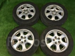 Комплект отличных колес Subaru лето ЖИР. 6.0x15 5x100.00 ET55