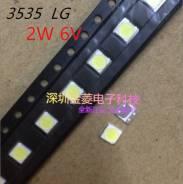 Светодиоды для ремонта телевизоров LG 2w 6v 3535