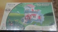 Конструктор деревянный 3д
