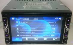 "Магнитолa 2Din №6210, экран сенсорный 7"" DVD, USB, microSD"