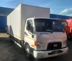 Hyundai HD78. Изотермический фургон на шасси длина 6.2 м. с. п 50 мм, 3 933куб. см., 4 775кг., 4x2