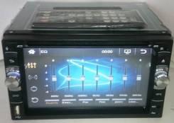 "Магнитолa 2Din №6228, экран сенсорный 6,2"" DVD, USB, microSD"