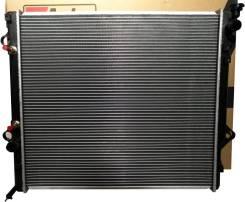 Радиатор охлаждения двигателя. Toyota Hilux Surf, VZN215W, TRN215, RZN215W, TRN215W, VZN215, TRN210, VZN210, RZN210W, RZN215, VZN210W, RZN210, TRN210W...
