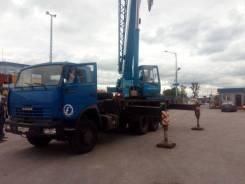 Клинцы КС-55713-1К-3. КС-55713-1К-3 на шасси КамАЗ 65115-62 б/у ( 2013 г. в., 10 000км., 5000, 25 000 кг., 28 м.