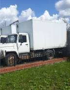 ГАЗ 3309. Продаётся ГАЗон с изотермическим фургоном и гидробортом, 4 430 куб. см., 4 000 кг.