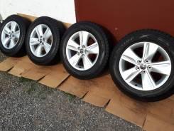 Готовый зимний комплект оригинала Toyota R17+Dunlop 225/65/17. 7.0x17 5x114.30 ET39 ЦО 60,1мм.
