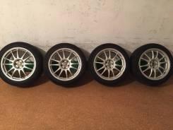 Продам комплект колес Toyota на 17 с летней резиной. 8.0x17 5x100.00 ET48 ЦО 73,0мм.
