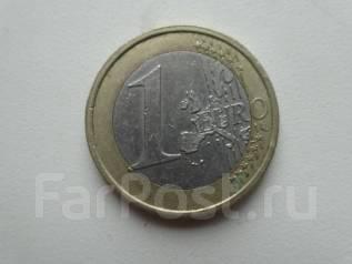 Франция 1 евро 1999 года.