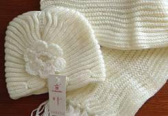 Шапка и шарф. Рост: 134-140, 140-146, 146-152, 152-158, 158-164, 164-170 см