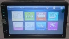 "Магнитолa 2Din №7015, экран сенсорный 7"", USB, microSD"