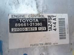 Блок управления двс. Toyota Caldina, AZT246, AZT246W Двигатель 1AZFSE