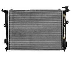 Радиатор охлаждения двигателя. Hyundai Centennial Hyundai Genesis Hyundai Equus Kia Quoris