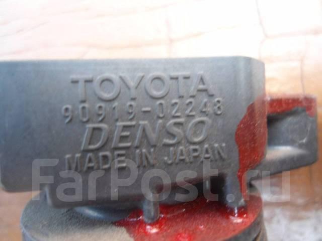 Катушка зажигания. Toyota: Nadia, Premio, Corolla Runx, Corolla Axio, Hilux, Toyoace, Wish, Camry, Allex, Land Cruiser, Voxy, Caldina, Fortuner, Solar...