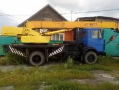 МАЗ Ивановец. Продам автокран маз ивановец 1995г. в Обмен, 7 000 куб. см., 14 000 кг., 10 м.
