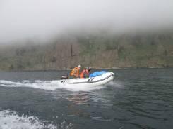 Аренда лодки ПВХ с мотором 9.9. 5 человек, 30км/ч