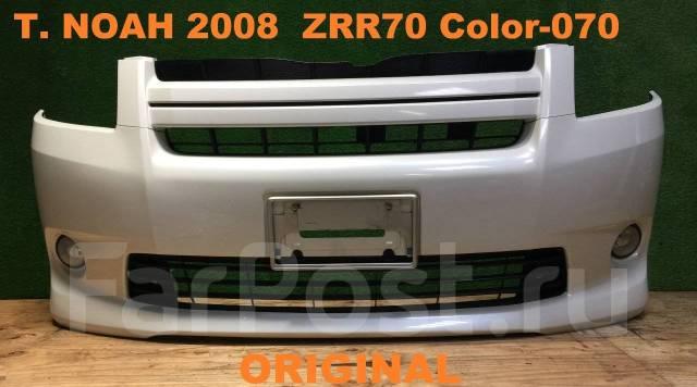 Бампер. Toyota Noah, ZRR70, ZRR70W, ZRR75W, ZRR75, ZRR70G, ZRR75G Двигатель 3ZRFE