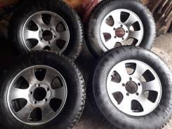 Продам колеса на уаз. 6.0x16 5x139.70 ET0 ЦО 110,1мм.