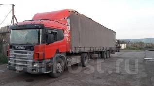 Scania. Продам седельный тягач Скания Р114 GA4Х2NA 340 2005гв, 10 640 куб. см., 18 600 кг.