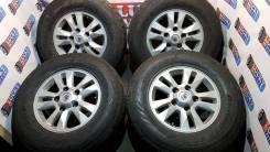 Комплект оригинальных колёс Toyota Land Cruiser200. 8.0x17 5x150.00 ET60 ЦО 110,0мм.