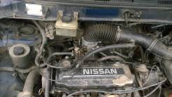 Двигатель в сборе. Nissan Prairie, NM11
