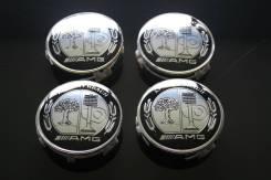 "Центральные заглушки дисков AMG. Диаметр 7.5"", 1 шт."