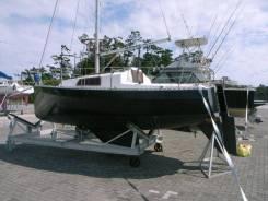 Яхта парусно-моторная Nora21 из Японии. Длина 7,00м., Год: 1983 год. Под заказ
