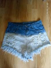 Шорты джинсовые. 40-48, 46, 48