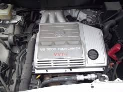 Двигатель в сборе. Toyota Harrier, MCU15, MCU15W Двигатель 1MZFE