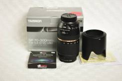 Объектив Tamron SP 70-300mm F4.0-5.6 Di VC USD для Nikon. Для Nikon, диаметр фильтра 62 мм
