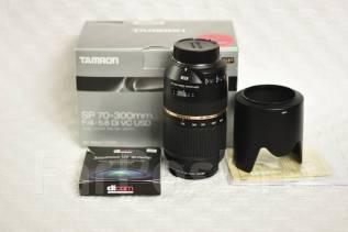 Объектив Tamron SP 70-300mm F4.0-5.6 Di VC USD для Nikon. Для Nikon, диаметр фильтра 62 мм