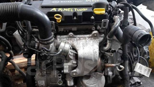 Новый двигатель без навесного 1.4B A14NEL на Opel